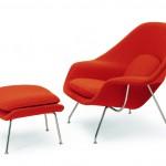 Knoll Studio Eero Saarinen Tulpen Stuhl und Tulpen Tisch_saarinen-womb-chair