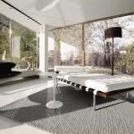 Knoll Studio Eero Saarinen Tulpen Tisch_Liege_Lounge_Wartezimmer