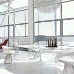 Knoll Studio Harry Bertoia Kollektion_Eero Saarinen Tulpen Tisch_2013_MILANO01_Lounge