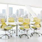 Knoll System Generation Chair_Stuhl_lemongrass_Meeting_Konferenz